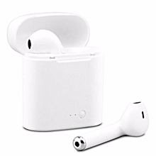 Bluetooth Earbuds Wireless Headphones Headsets Stereo In-Ear Earphones With Charging Box For Ios And Android White