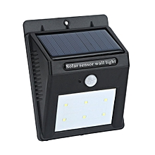 Waterproof Solar Sensor Wall Light Solar Panel LED Lights Garden Outdoor Light