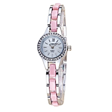 guoaivo SBAO Fashion High - end Watches Round Dial Bracelet Table Women 's Watches - Multicolor C