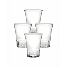 Amalfi Tumbler - Set of 4 -  7CL - Clear