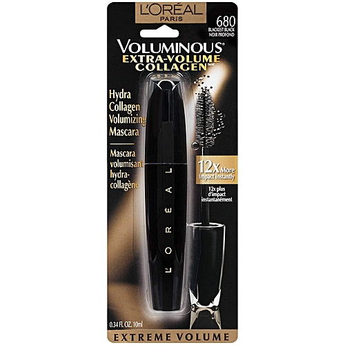67c8663ee31 L'OREAL PARIS Extra-Volume Collagen Mascara - Blackest Black @ Best ...