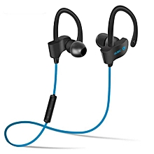 S4 In-Ear Bluetooth Wireless Sport Running Headset Bluetooth Headphones(Blue)