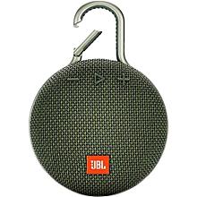 Clip 3 Portable Waterproof Wireless Bluetooth Speaker - Green.