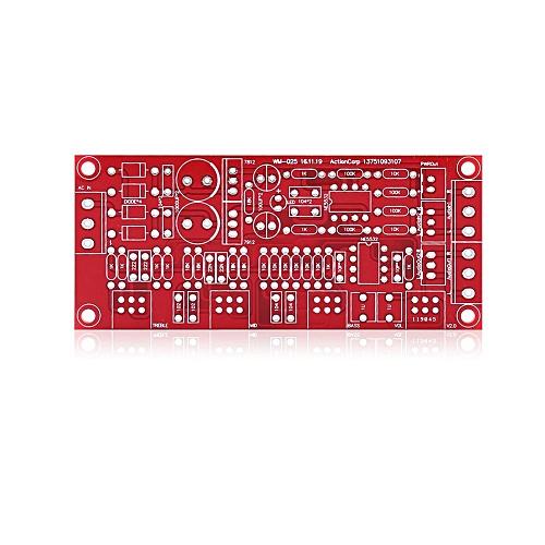 HIFI Preamp NE5532 Pre-amplifier Tone Board Kits AC 12V OP-AMP HIFI  Amplifier(DIY KIT)