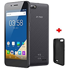 "V13 - 5.0"" - 8GB+1GB - 5MP Camera - Android 7.0 - Dual SIM - Grey + Protective Case"