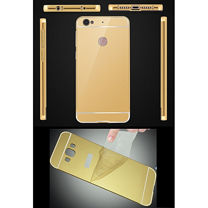 ... RUILEAN Luxury Metal Aluminum Bumper For Xiaomi Mi 4S Case Detachable + Mirror Hard Back 2