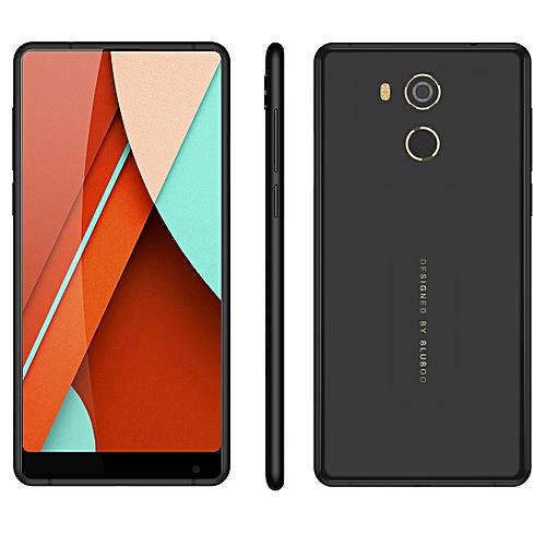 BLUBOO D5 Pro, 3GB+32GB, Fingerprint Identification, 5.5 inch Android 7.0 MTK6737 Quad Core up to 1.3GHz, Network: 4G,  Dual SIM(Black)