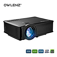 SD60 LED Projector WiFi 2019 Full HD Max 1080p High Resolution Home Theater HDMI USB PC VGA Support Home Cinema