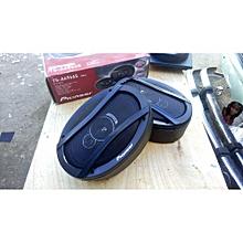 """TSA6966R TS-A6966R 6"""" X 9"""" 3-Way Speaker +mid cabinets-Black"""
