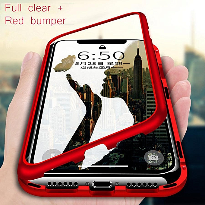 watch 3035d ce563 Magnet Metal Bumper Case For Samsung Galaxy S7 Edge Magnetic Adsorption  Case For Samsung Galaxy S7 Edge Tempered Glass Cases 988927 c-1 (Color:Main  ...