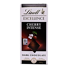 Cherry Intense Dark Chocolate, 100g