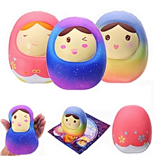 Vlampo Squishy Doll Jumbo Tumbler 13cm Licensed Slow Rising  Packaging Collection Gift Decor-