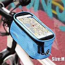 Bike Touch Screen 4.8 inch Saddle Bag Holder Handlebar Phone Pocket Riding Cycling Supplies