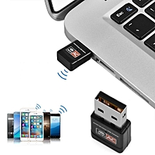 600Mbps USB Wireless Network Adapter 802.11AC Dual Band 2.4G/5G WiFi Dongle for Laptop Desktop