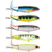 SeaKnight SK051 5pcs/set 130mm 39g Wopper Plopper Fishing Lure Rotating Tail Hard Bait Sea Fishing