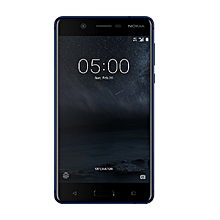 "Nokia 5 – 5.2"" - 16GB ROM – 2GB RAM – 13MP Camera – Dual SIM –  Tempered blue"