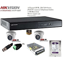 2 CCTV camera Kit + free HDMI