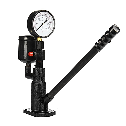 Pop Diesel Injector Nozzle Pressure Tester Dual Scale Read Gauge Bar PSI  0-60Mpa