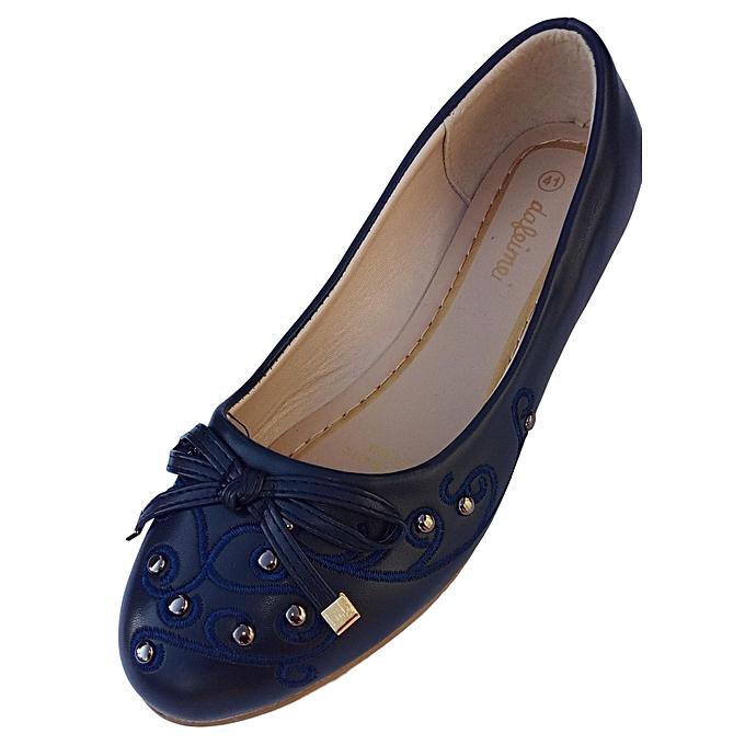 Dafeimei Women Blue Flat Shoes @ Best Price Online