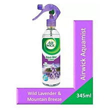 Aquamist Spray Wild Lavender & Mountain Breeze - 345ml