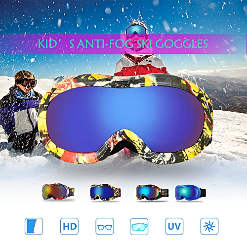Security & Protection Winter Ski Snowboard Goggles Windproof Ski Goggles With Adjustable Elastic Band Outdoor Sports Protection Ski Glasses For Sale