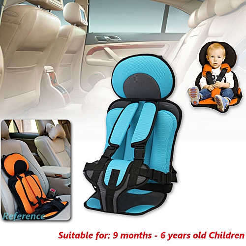 641c623ee8d Generic 0~6 And 6~12 year old kids Safe Seat Portable Baby Safety Seat  Children s Chairs Thickening Sponge Kids Child Car Seats 2 Size