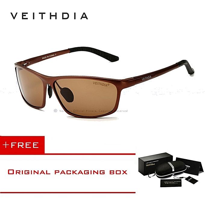 031f56599 VEITHDIA Brand Designer Aluminum Men's Polarized Sunglasses Sunglass Eyewear  Accessories Men Blue Mirror Sun Glasses Goggle