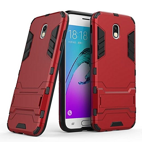 100% authentic 7bd6e df494 Galaxy J7Pro J730 2017 Case Iron Man Armor Back Cover