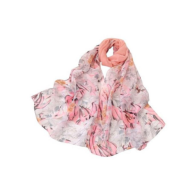 10fd3bb4c58 Hiaojbk Store Fashion Women Soild Dot Printing Long Soft Wrap Scarf Ladies  Shawl Scarves-Pink