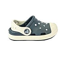 Sandal Bump It Clog K Navy/Oyster Child- 202282-43w- C6