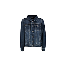Blue Fashionable Short coat