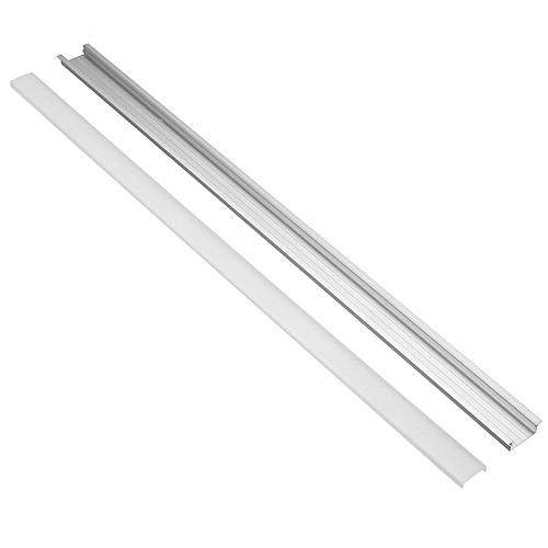 U/YW/V Aluminium Channel Holder For LED Strip Light Bar Under Cabinet  50cm*2cm XH-U6