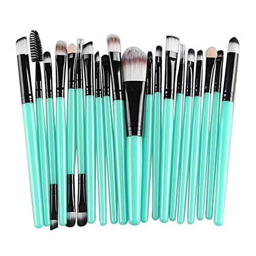 05eec3a17992 20 pcs Makeup Brush Set tools Make-up Toiletry Kit Wool Make Up Brush Set BK