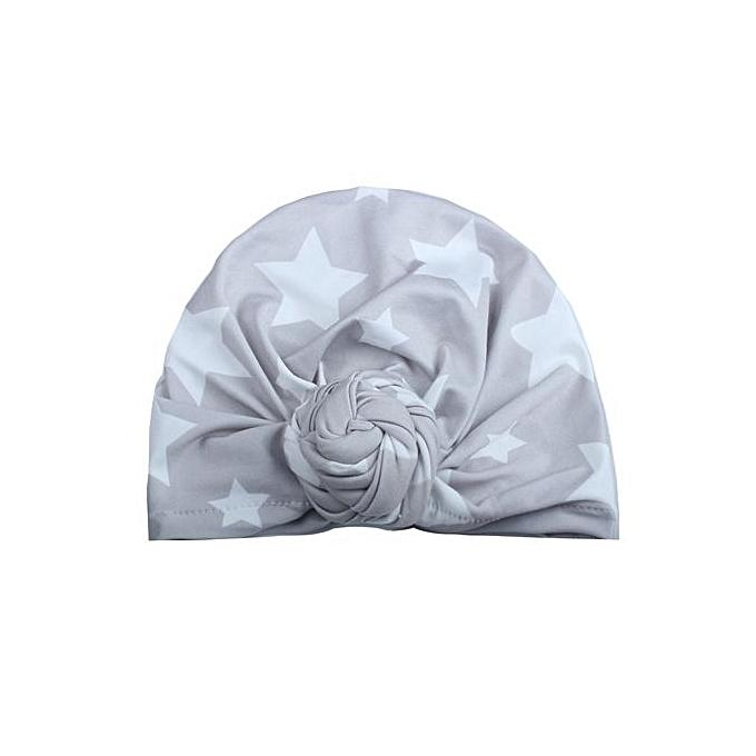 d7406762edf Cute Newborn Toddler Kids Baby Boy Girl Turban Cotton Beanie Hat Winter  Warm Cap