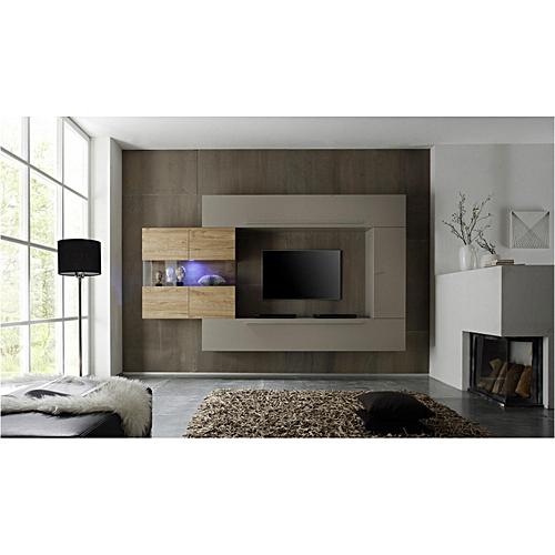 Buy Roman Line Unit 3 Beige Matt and Honey Oak.. @ Best Price Online ...
