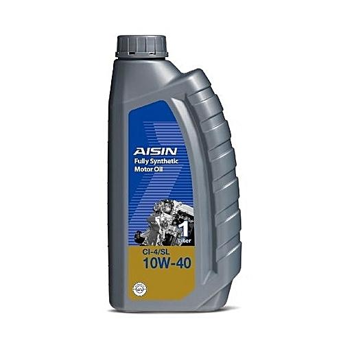 Aisin Fully Synthetic Motor Oil CI-4/SL 10W-40 Diesel 1 Liter