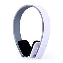 AEC BQ618 Smart Bluetooth 4.0 Headphone Wireless Earphone Headset with MIC-WHITE