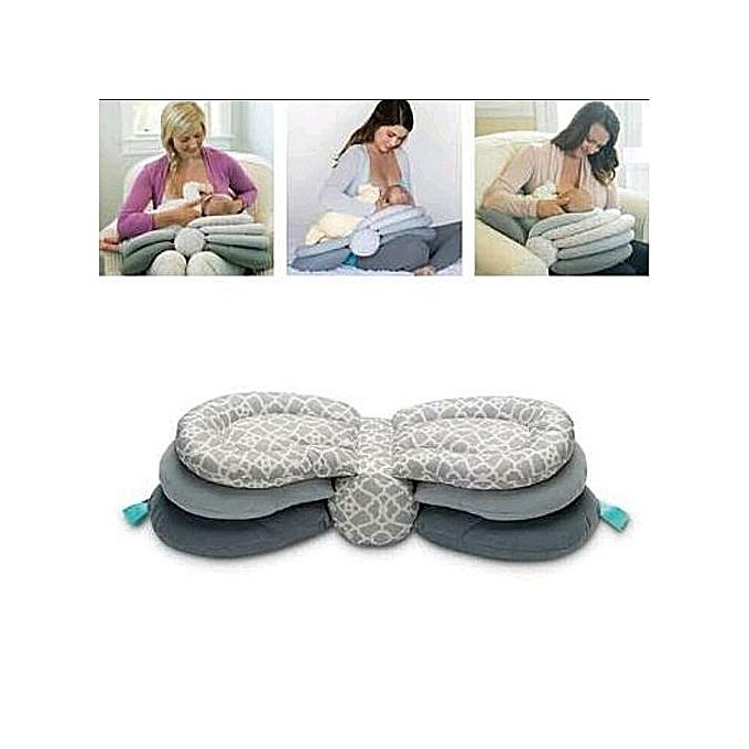 Generic Grey Layers Of Love Nursing Pillow Best Price