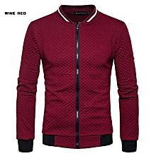 Mens Casual Hoodies Sweatshirts 2018 New Fashion Contrast Color Slim Fit Zipper Cardigan Argyle Hoodie Sweatshirt For Me