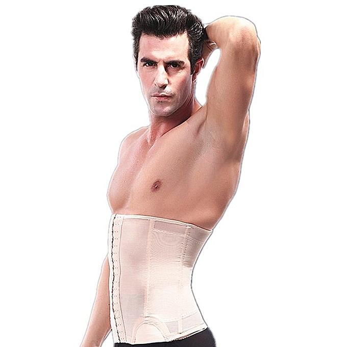 b135db6b06c YWG Men Sports Belt Body Shaper Waist Support Trainer Girdle Lingerie Fajas  Tummy Belly Band Slimming