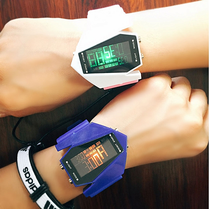 Airplane Led Huo gum watch the men and women exercise form l