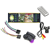 "4.1"" Bluetooth Stereo Car Media MP5 Player Remote Control Rear View Camera Black"
