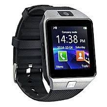 Bluetooth Smart Watch DZ09 Smartwatch Watch Phone Support SIM TF Card With Camera For Android IOS IPhone Samsung LG Phones-Black - black
