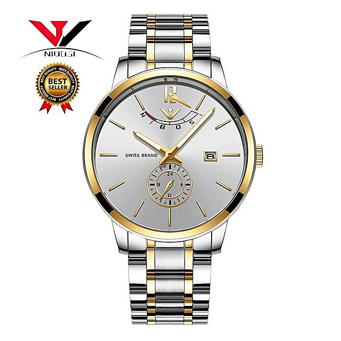 a24f966ef49 NIBOSI Relogio Masculino Relojes Watch Mens Watches Top Brand Luxury Sport  Quartz Watch Waterproof Wristwatch 2318