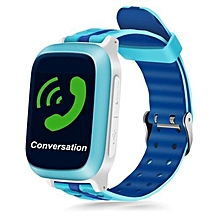 Waterproof Children GPS Smart Phone Watch blue