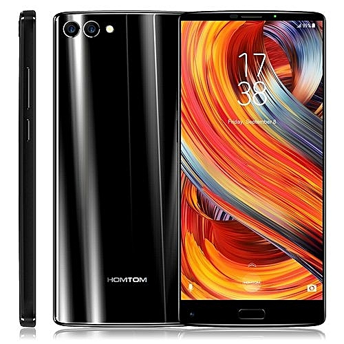 S9 Plus 4GB+64GB Dual Back Cameras 4050mAh Battery 5.99 Inch Android 7.0 MTK6750T Octa Core1.5GHz4G Dual SIM 4G Smartphone(Black)