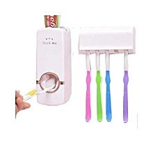 Toothpaste Dispenser - White.