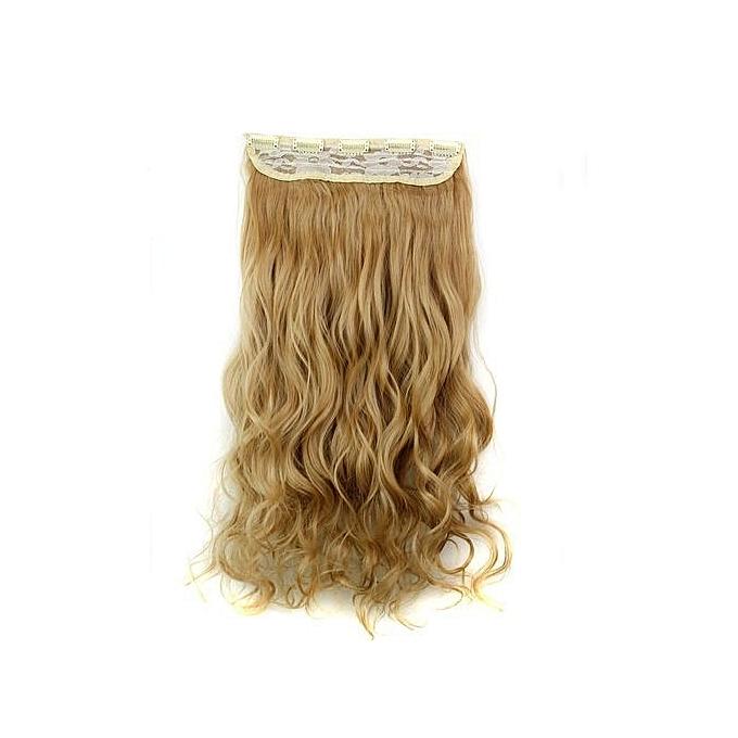 Buy Qibest Bluerdream 5pcs Clip False Hair Synthetic Hair Extension