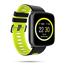 """GV68 - 1.54"""" Smartwatch 32MB/32MB Android IOS Heart Rate Waterproof 360mAh - Green"""