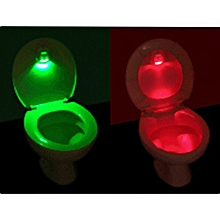 LED Sensor Motion Activated Toilet Light Battery-Operated Night Light